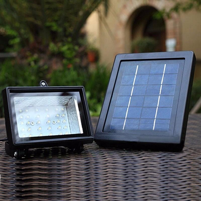 Solar Home Lighting System Floodlight 30 LED Outdoor Light Solar Flood Light Landscape Lamp for Lawn Garden Road Hotel Pool Pond