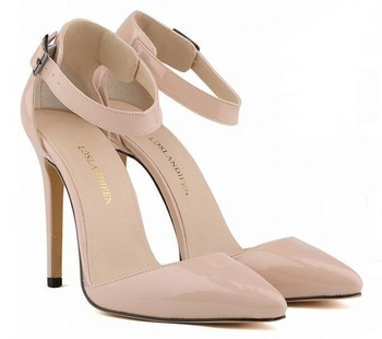 2015 New Brand Shoes Women Pointed Toe Women Pumps Patent Leather Red Bottom High Heels Shoes Sexy Ladies Wedding Shoes S20(China (Mainland))
