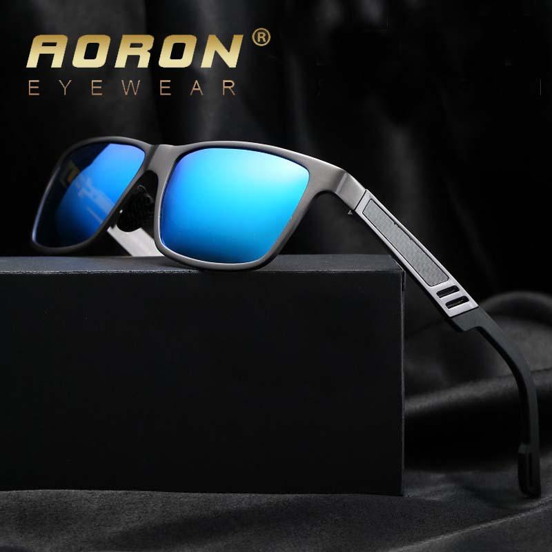 Fashion Polarized Sunglasses Men Aluminum Magnesium Sun Glasses Driving Glasses Rectangle Shades Eyewear(China (Mainland))