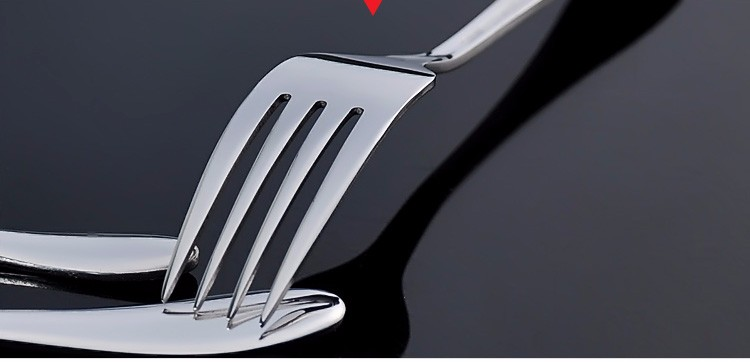Buy 4pcs Retro Creative Rose embossed Silver Plated steak knife fork spoon meal retro spoon in Black gift box Silverware sets cheap