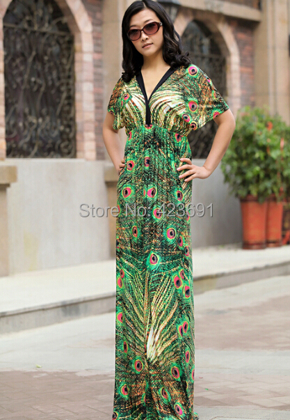 High quality celebrity summer style long maxi dress beach for Plus size maxi dresses for summer wedding