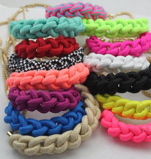 Color Cotton Rope Color Cotton Rope Punk