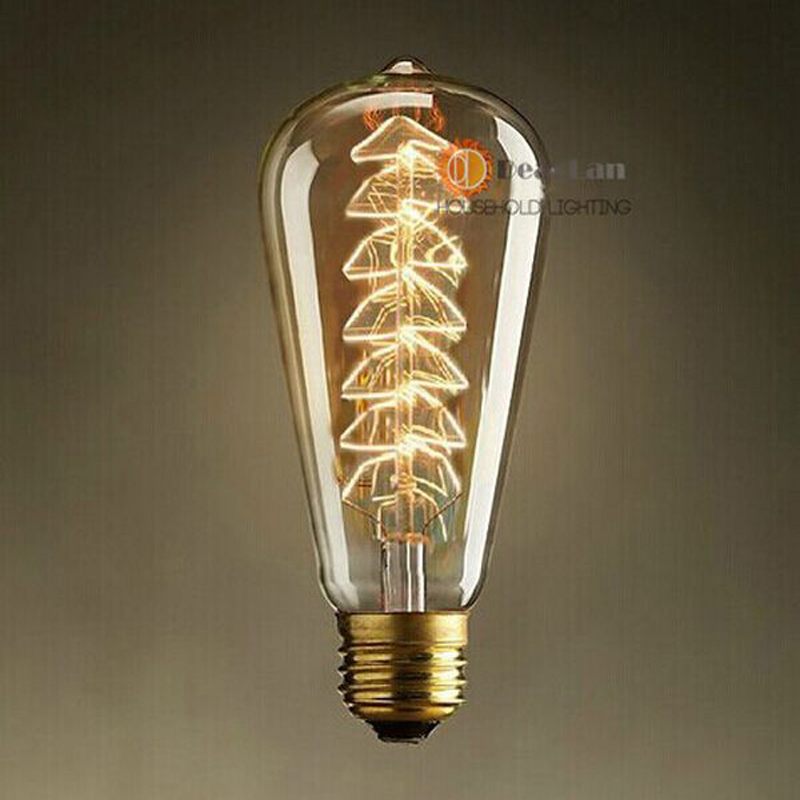 Special Wholesale Promotion Bulbs Fashional Incandescent Edison Bulb E27 60w 220v Vintage Edison