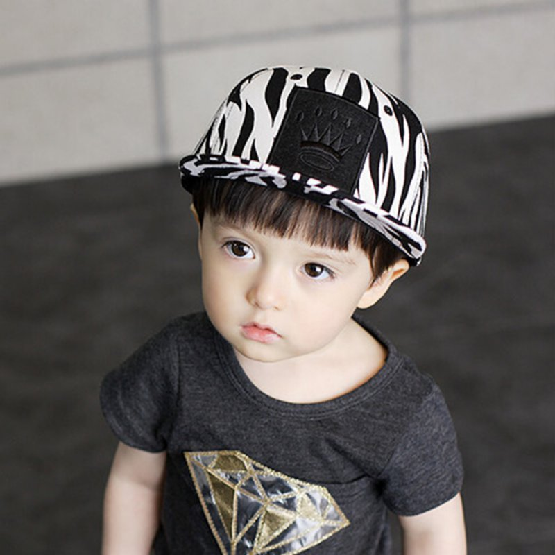 New Kids Boys Cool Caps Cotton Leopard Style Fashion Toddlers Baby Baseball Caps(China (Mainland))