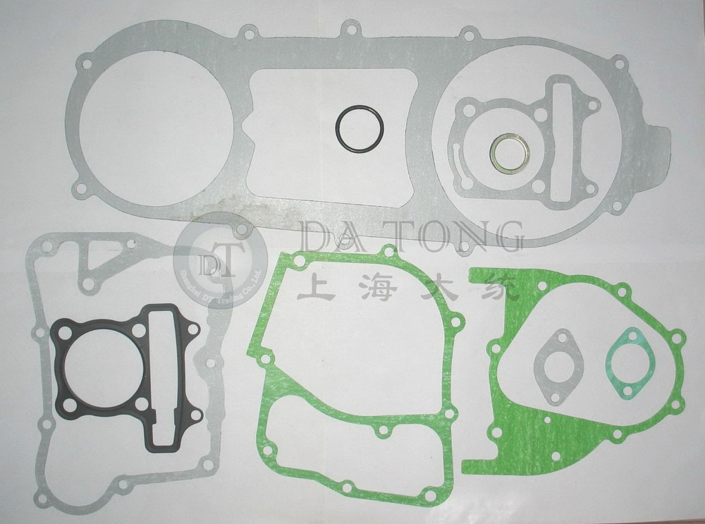 Full set Gasket For font b GY6 b font 150cc 157QMJ Engine Chinese Scooter Honda Motorcycle