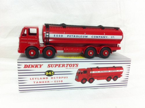 Diecast Metal Scale Model Cars 1:43 Atlas Dinky Toys Supertoys 943 Leyland Octopus Tanker ESSO Collectors Cars<br><br>Aliexpress