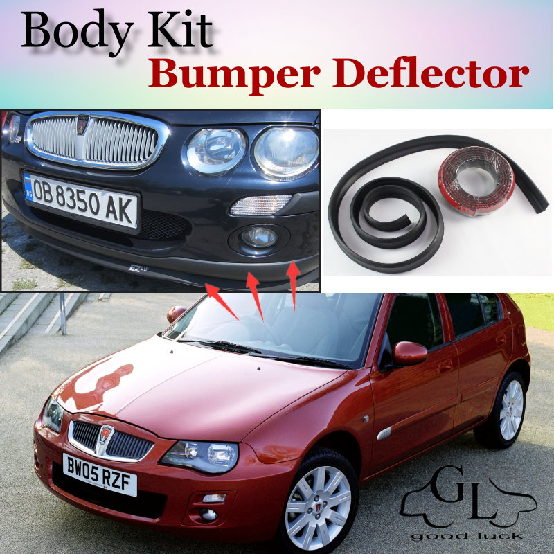 Bumper Lip Deflector Lips For Rover 200 / 25 Front Spoiler Skirt For TopGear Friends to Car Tuning View / Body Kit / Strip<br><br>Aliexpress