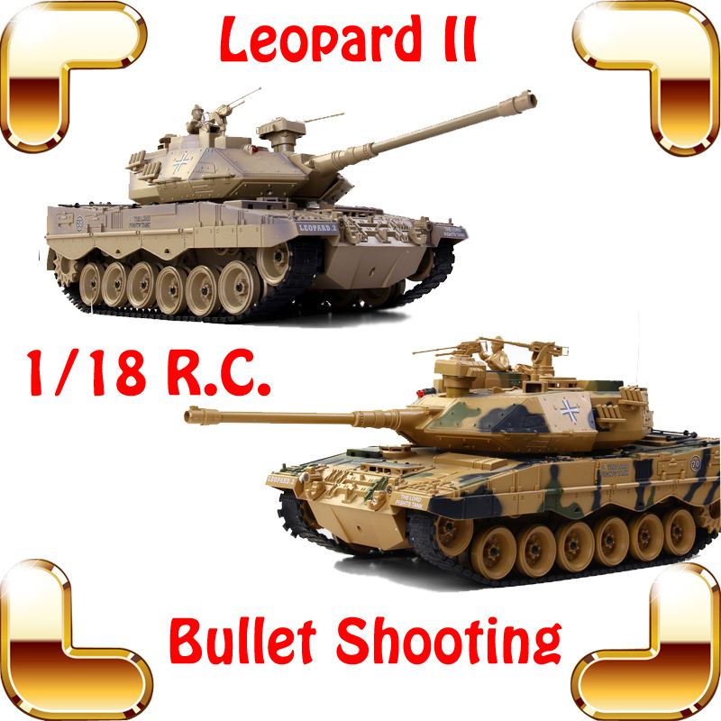 New Coming Gift COLLIDE German Leopard 2 Bullet Shooting Tank 18 CH 1/18 RC Radio Control Large Toy Tanks Electric Battle Force<br><br>Aliexpress