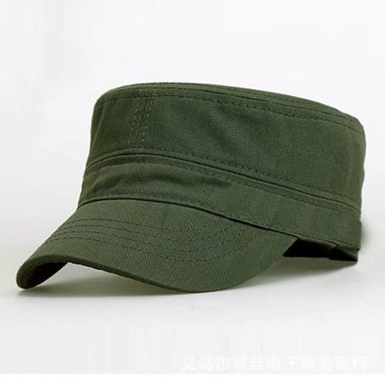 Black Military Cap men tactical military hat Hats Gorra Plana Militar Cadet Hat flat cap(China (Mainland))