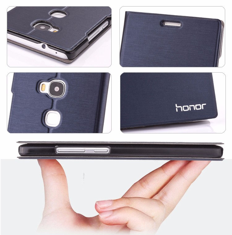 7 Colors Original Brand Flip Leather case for Huawei Honor Play 5C Mobile Phone Pouch Bags Card Holder Stand Cover For Huawei 5C