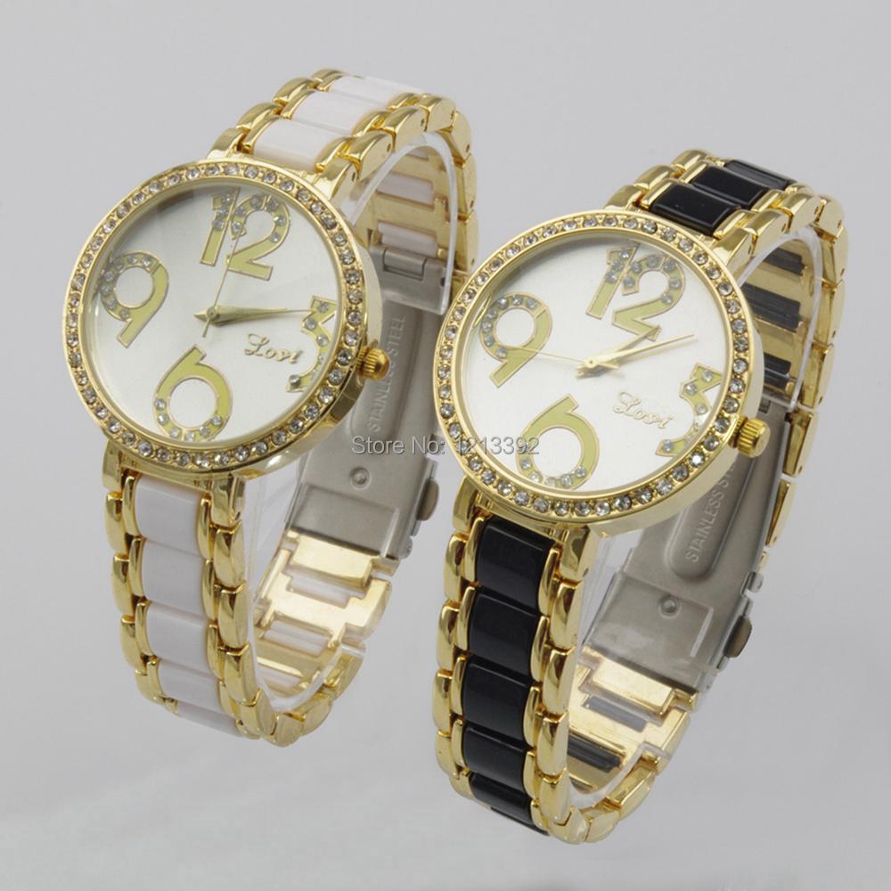 Hot Fashion women watches luxury Rhinestone classic Round Face Elegent Quartz Analog Lady Wrist Watch Gift  BS88<br><br>Aliexpress