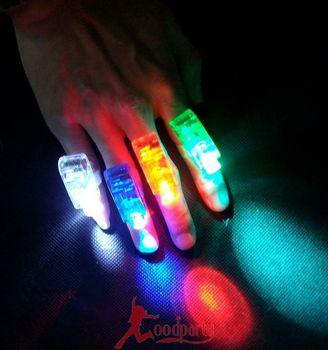 Light-up toy neon stick bar laser light ball multicolour finger light led plastic ring light