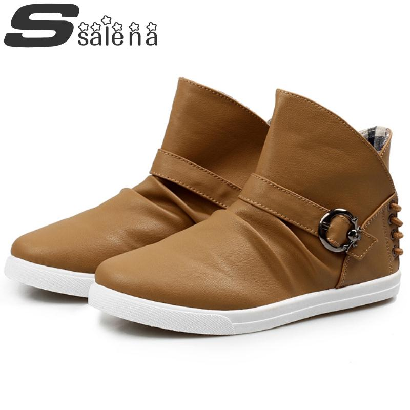 Hot Sale 2014 High-top Breathable Fashion Ankle Men Boots EU 39-43 Casual Boots Man Summer Sneakers A199<br><br>Aliexpress