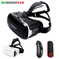 2016 Leather VR Shinecon 2 0 ii 3D VR Glasses Virtual Reality Headset Google Cardboard Head