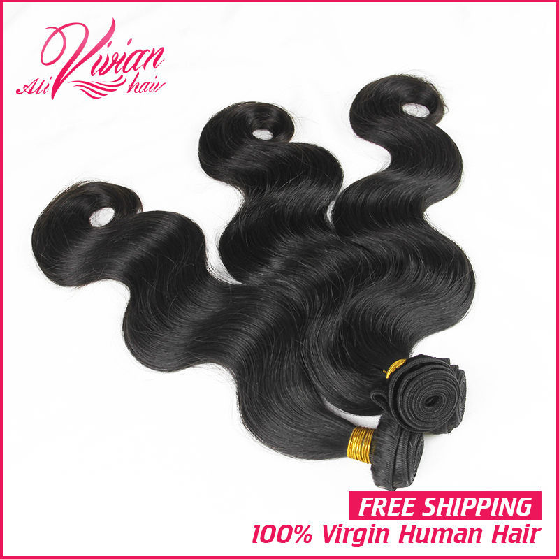 Malaysian Virgin Hair Body Wave Unprocessed Cheap Malaysian Body Wave 3 Bundles100% Human Hair Extensions Malaysian Hair Bundles(China (Mainland))