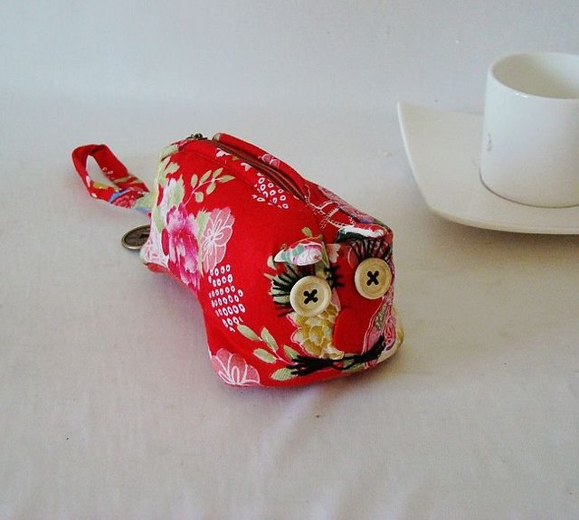 coin bag-fabic coin bag-chinese tiger designs-5pcs/lot&free shipping