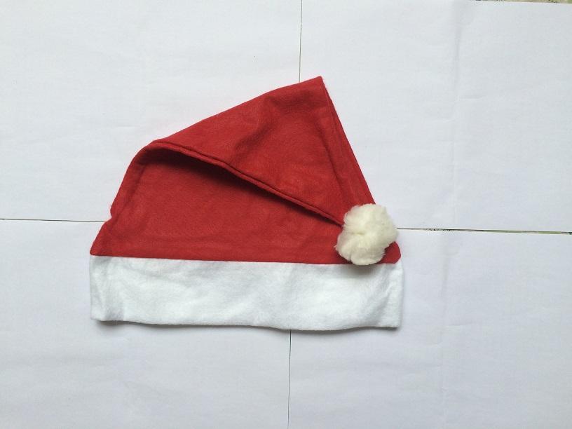 Christmas decoration Adult Ordinary Christmas hats for Chiristmas party cap Free Shipping(China (Mainland))