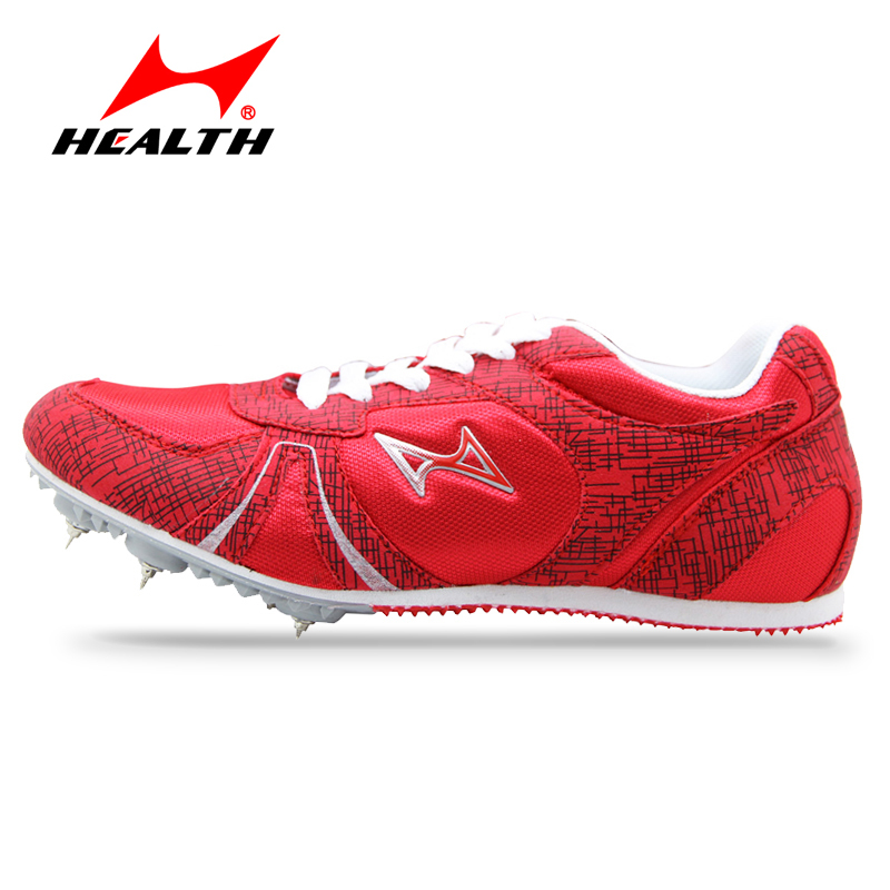 Health track and field for men spike nail shoes Student training sprint running shoes 2016 sneakers Men Sport Shoes size 33-45(China (Mainland))