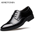 Autumn Winter Men Leather Shoes 2016 New Fashion Men Quality Office Shoes Oxford Shoes For Men