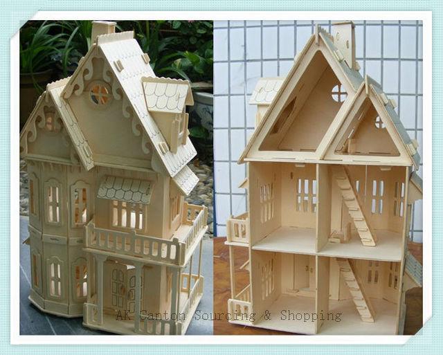 ducatifs en bois 3d puzzle mod le bricolage rural. Black Bedroom Furniture Sets. Home Design Ideas