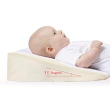 Babymoov Anti Baby Spit Milk 15 Degree Crib Cot Wedge Baby Sleep Positioning Pillow Nursing Pillow Pad(China (Mainland))