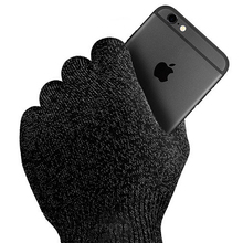 New 2015 1pair Screen Touch Gloves Unisex Winter For iphone/ipad Touchscreen Glove Men Woman Gloves & Mittens knit Hot Sale(China (Mainland))