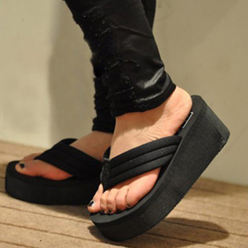 2016 Summer Shoes Women Platform Sandals Wedge Flip Flops Sapato Feminino High Heel slippers Sandalias Mujer Plataforma Chanclas
