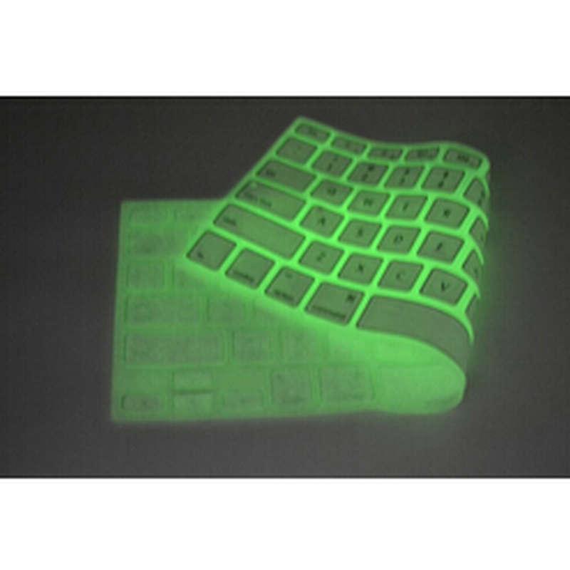 Luminescent fluorescence Silicone font b Laptop b font font b keyboard b font Skin Protector font