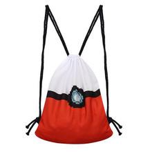 Hot Cartoon Printing Pokemon Go Drawstring Backpack Girls Harajuku Canvas Sack Outdoor Sport Shoulder Bag Travel Gym Bag Mochila