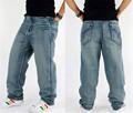 Baggy jeans hiphop mens hip hop style men s jeans skateboard pants rap dance loose trousers