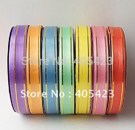 Phnom Penh embroider Ribbon balloon tied export Ribbon wedding supplies 10rollls/lot(China (Mainland))
