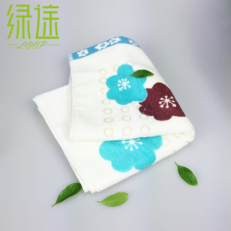 33*74cm 100% Cotton Patterned Face Towels for Adults Home Quick-Dry Hand Kitchen Towel Bath Beach Towel Absorbent Cotton Towel(China (Mainland))