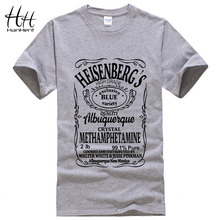 HanHent Hermanos T-Shirt Uomo Breaking Bad T Shirt Uomo Walter Cuoco bianco Tops Uomini Heisenberg Supera i t 2016 di Modo di Estate nuovo(China (Mainland))