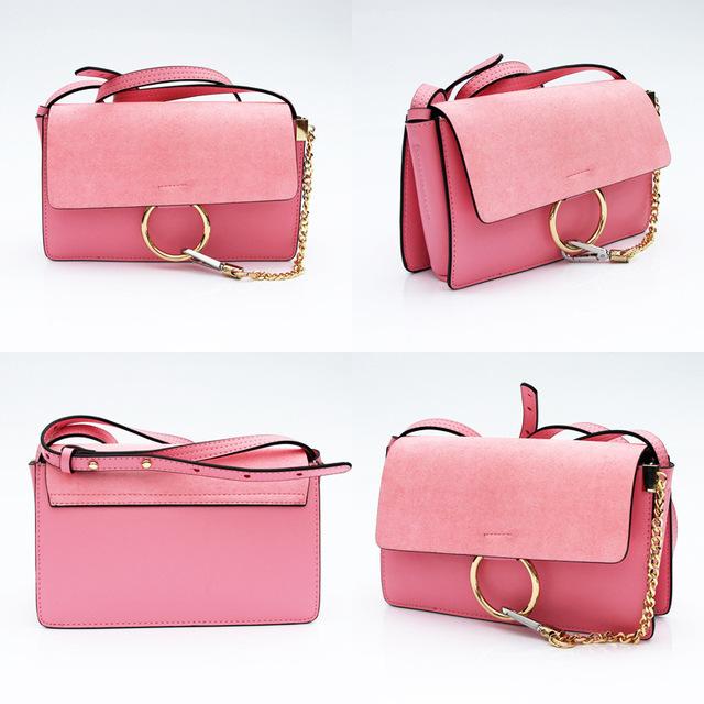 Handbag Fashion Chain Genuine Leather Handbag Women Shoulder Bag Messenger Bags Ladies Crossbody Bag