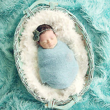 Baby Photography Props Blanket Wraps Stretch Knit Wraps Newborn Photo Swaddlings Receiving Blankets(China (Mainland))