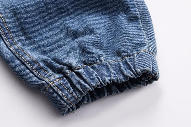 Mens Cargo Blue Jeans
