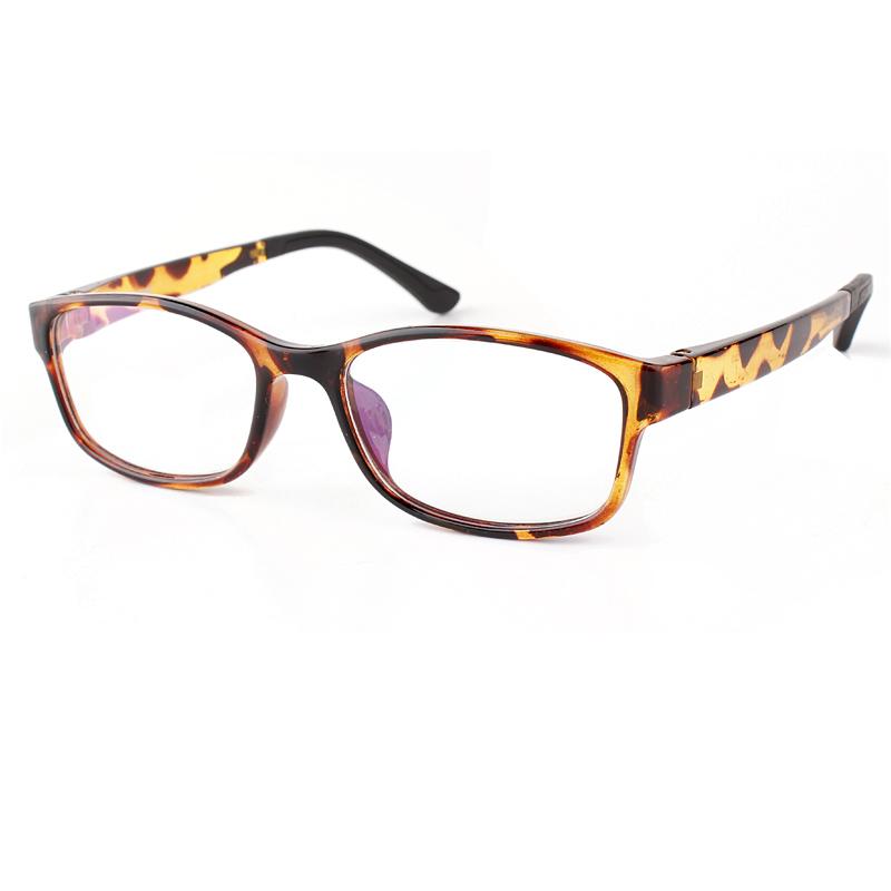 TR 90 Rectangle Eye Glasses Frame Women and Men Eyewear Colorful Prescription Glasses Frame(China (Mainland))