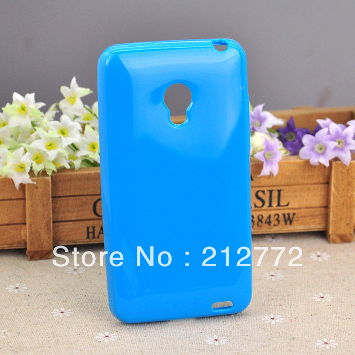 Soft TPU Case Meizu MX2 Silicon Jelly Phone Cases Blue Color - Jessy's Store( & Retail store)