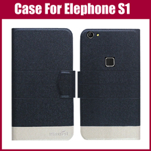 Buy Hot Sale! Elephone S1 Case New Arrival 5 Colors Fashion Flip Ultra-thin Leather Protective Cover Elephone S1 Case for $3.90 in AliExpress store