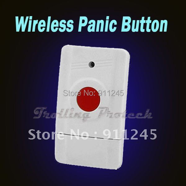 Wireless Panic Button used for emergency help GSM Alarm System Accessory(China (Mainland))