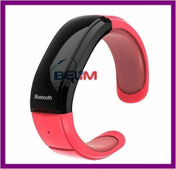 Free Shipping Bluetooth Bracelet High Speed Bluetooth Watch Support incoming caller ID Display,Synchronization Phonebook 3 Color