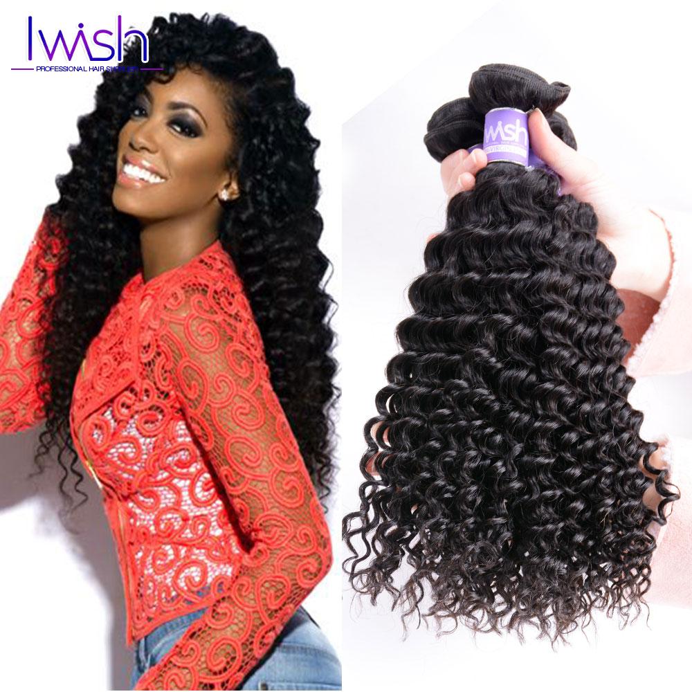Grade 7A Brazilian Kinky Curly Virgin Hair 3Pcs/Lot Brazilian Hair Weave Bundles 100% Remy Human Hair Extension #1B Deep Curly<br><br>Aliexpress