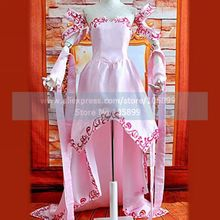 Gundam Seed The Far-Away Dawn Lacus Clyne Cosplay Costume