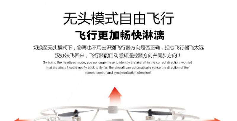 RC drone Quadcopter F807 6-axis Gryo FPV With HD Camera LCD Transmitter Live Video Audio Streaming Recording VS X4 H107D