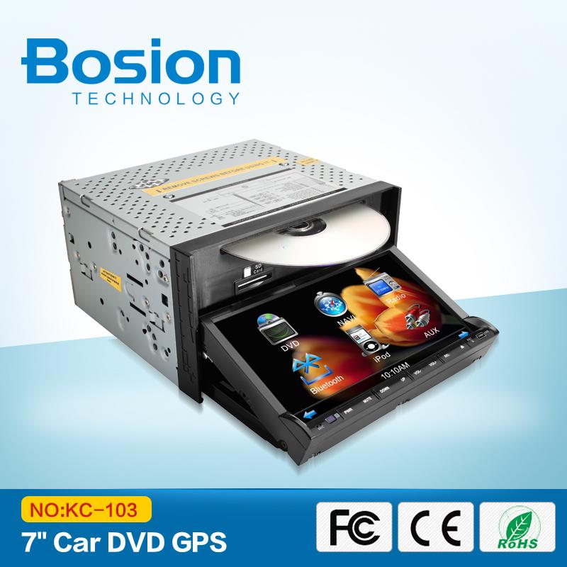 "New Double 2 Din 7"" In Dash Stereo Car DVD, Bluetooth Radio iPod SD/USB Parking video HD Digital TV (optional) Ipod audio(China (Mainland))"