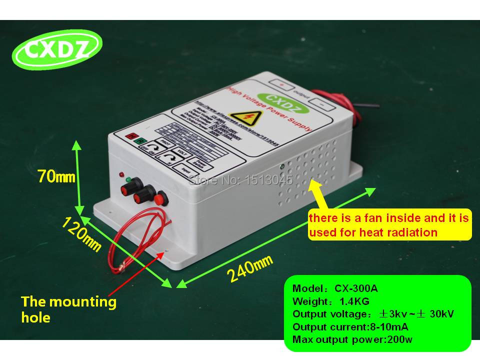 HIGH VOLTAGE SUPPLY WITH 30KV OUTPUT<br><br>Aliexpress