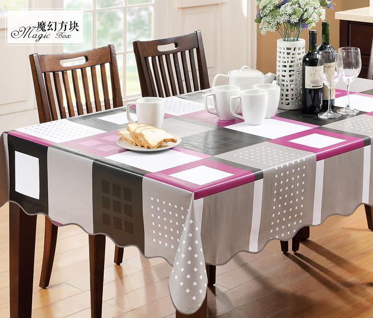 hot! PVC waterproof plastic tablecloth table cloth disposable table cloth table cloth round table cloth(China (Mainland))