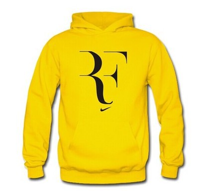 2014 Brand Men's/ women's ROGER FEDERER Sport Hoodies,men Cotton Fleece sweatshirt, man hoody 6 color, S-XXL,Free shipping(China (Mainland))