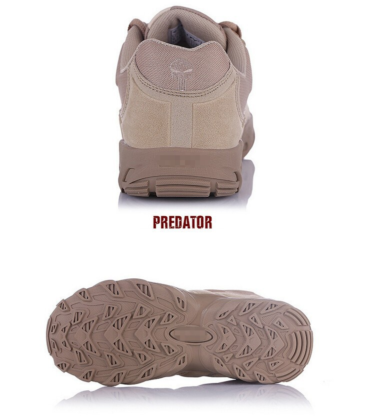 2015 New Military Tactical Boots Desert Combat Outdoor Army Hiking