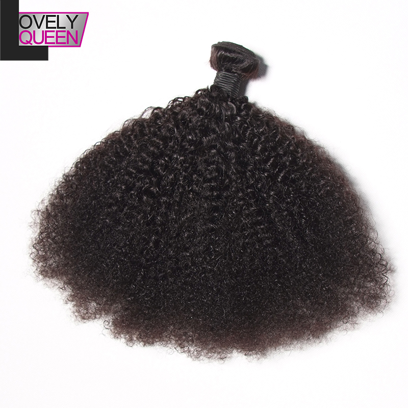Rosa Hair Products 6A Mongolian Afro Kinky Curly Virgin Hair 4Pcs Lot Mongolian Kinky Curly Natural Black 100%Virgin Human Hair